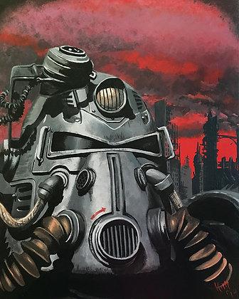 Fallout #1 Canvas Print