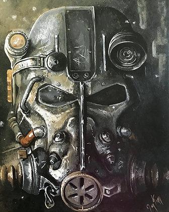 Fallout #6 Canvas Print