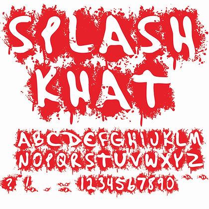 SplashKhat Font - Regular