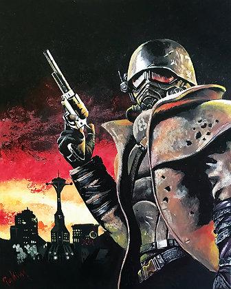 Fallout #5 Canvas Print