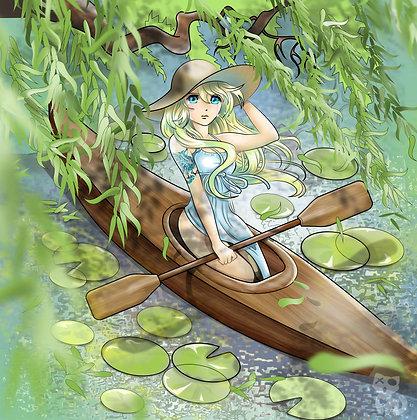 Willow Digital Print