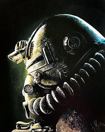 Fallout #7 Canvas Print