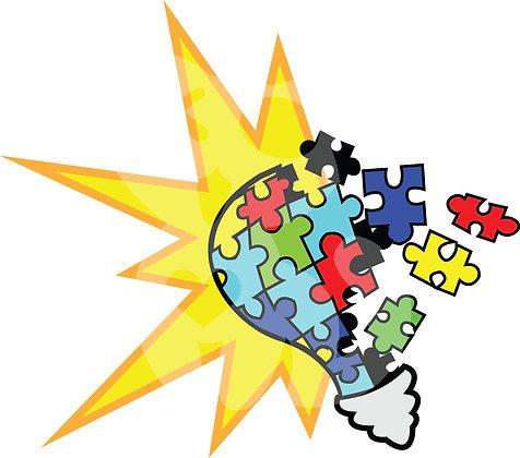 Puzzle Piece Lightbulb