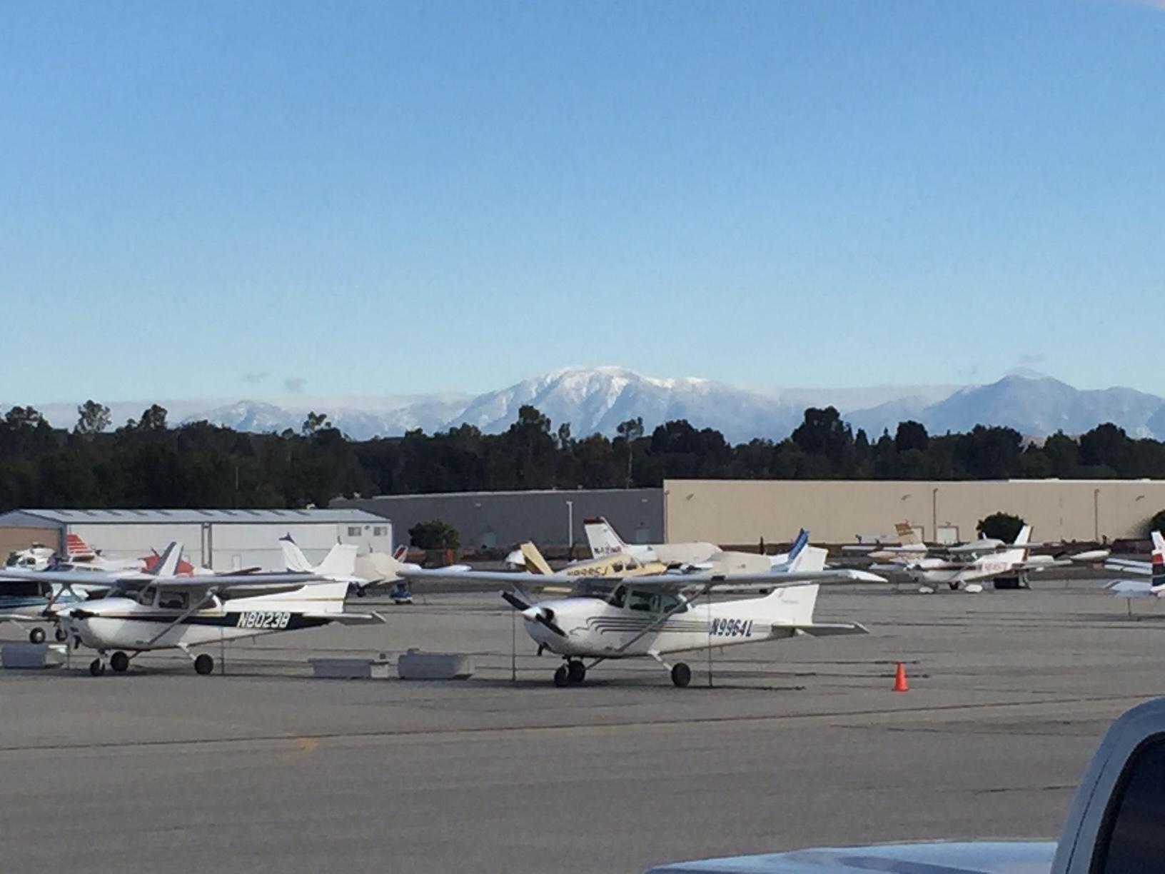 Snow Capped San Gabriel Mtns