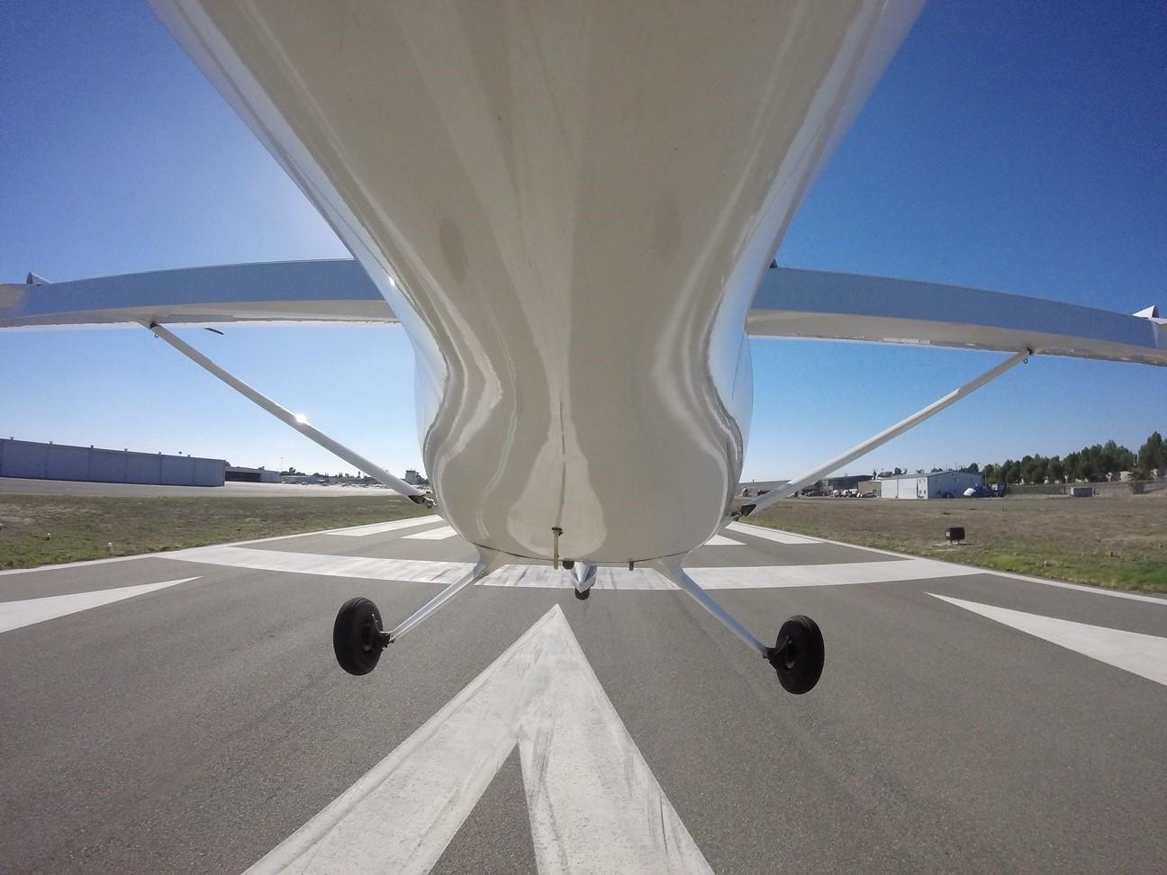 Landing at KFUL