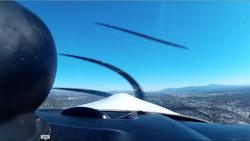Take off from Runway 6 - Fullerton