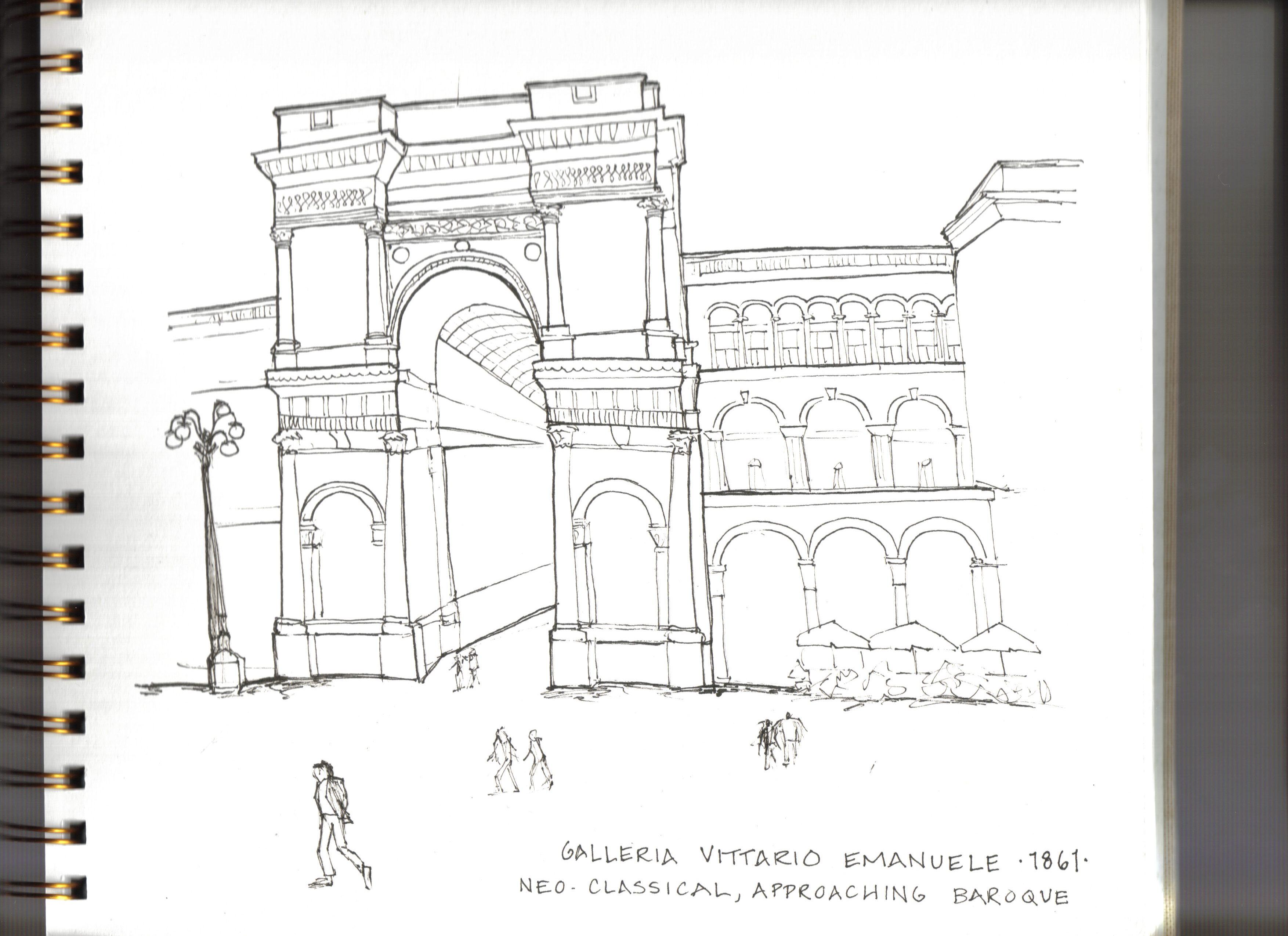Milan - Galleris Vittario Emanuele