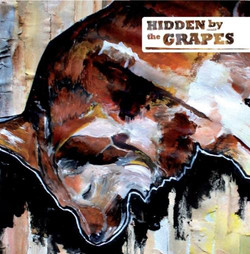 Hidden by the grapes