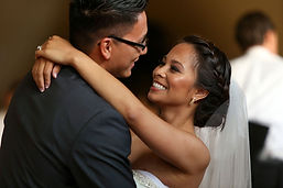 Couple dancing their First Dance