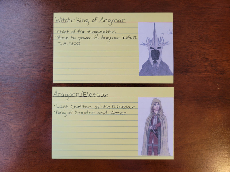 Day 125 Character Cards