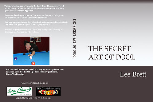The Secret Art Of Pool DVD 5 for $125