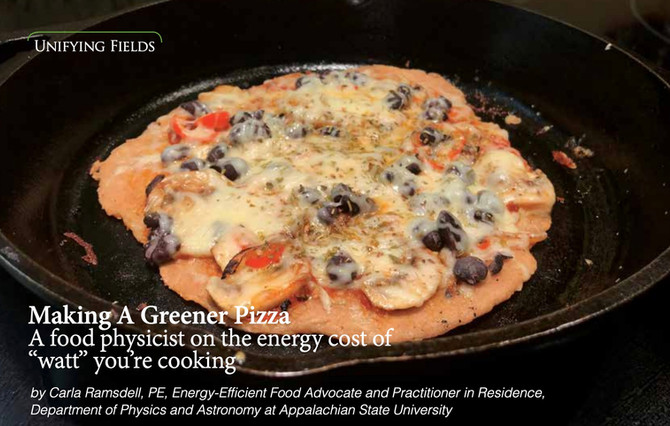Skillet Pizza - Skip the freezer AND oven and make quick pizza with minimal energy!