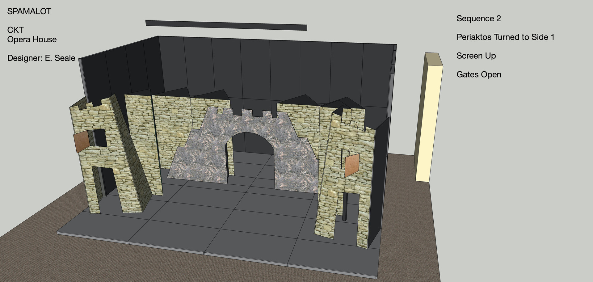 Spamalot First Look Design