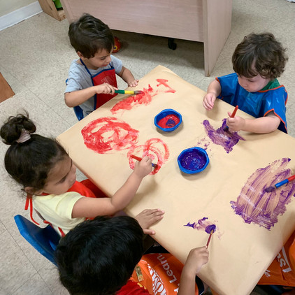 Expressing our artistic creativity!