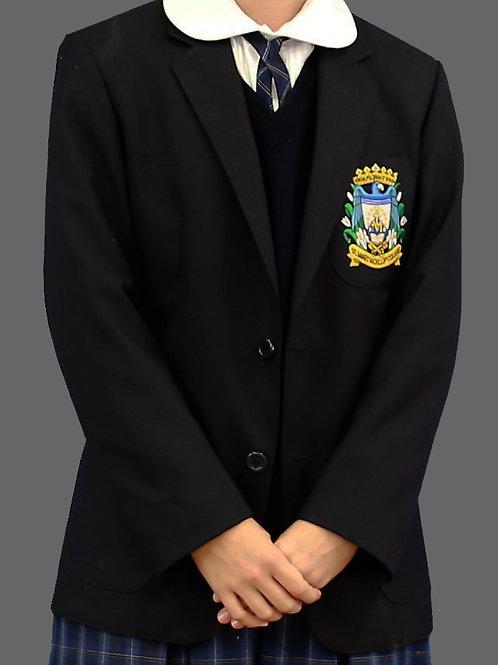Navy School Crest Blazer