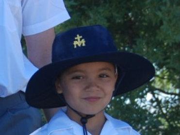 School Hat - wide brimmed with school Logo