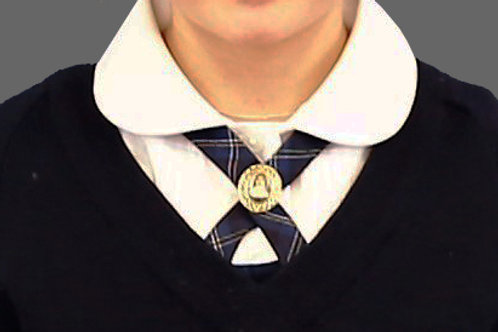 Girls Crossover Neck-Tie