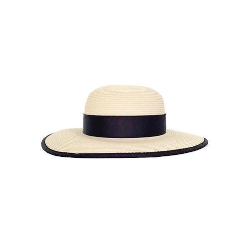 Ladies Straw Panama Hat