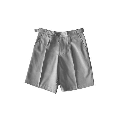 Adults Grey Tab Shorts