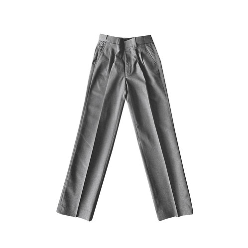 Adult Pleated Melange Extendable Pants