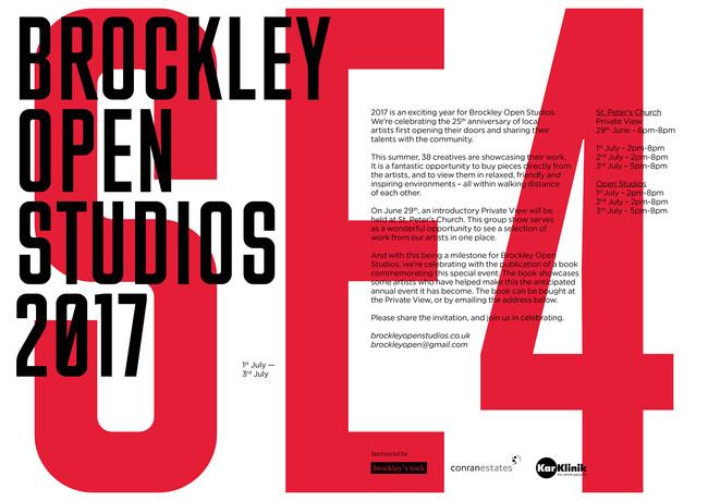 Brockley Open Studios 2017