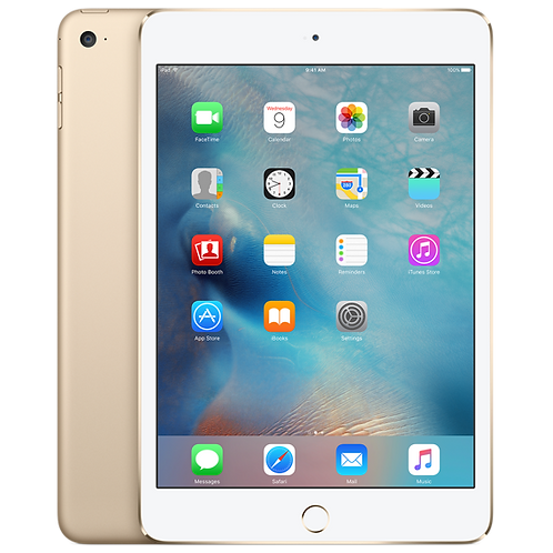 iPad mini 4 128GB Wi-Fi + Cellular - Gold