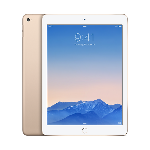 iPad 128GB with Wi-Fi + Cellular - Gold