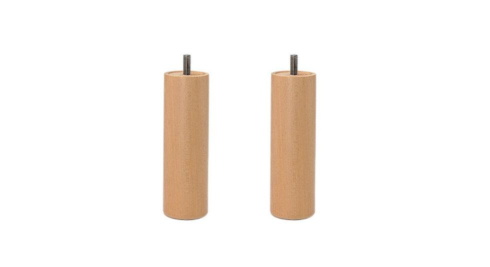 Pata de madera de Haya 18 cm