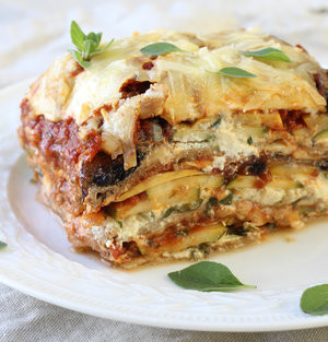 Beef and Veggie Lasagna