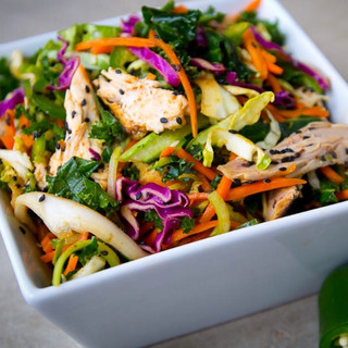 Asian Chicken Salad Keto