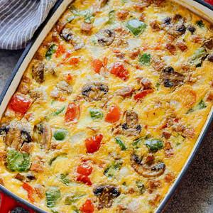 Veggie Omelette Bake