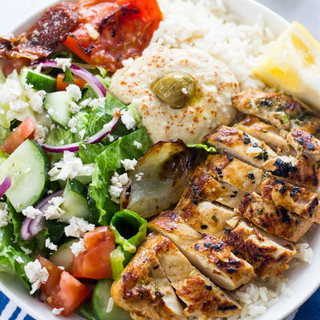 Chicken Shwarma Bowl