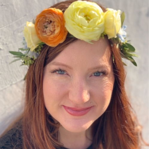 """The Grace"" Floral Crown"