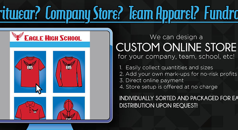 Custom Online Store design