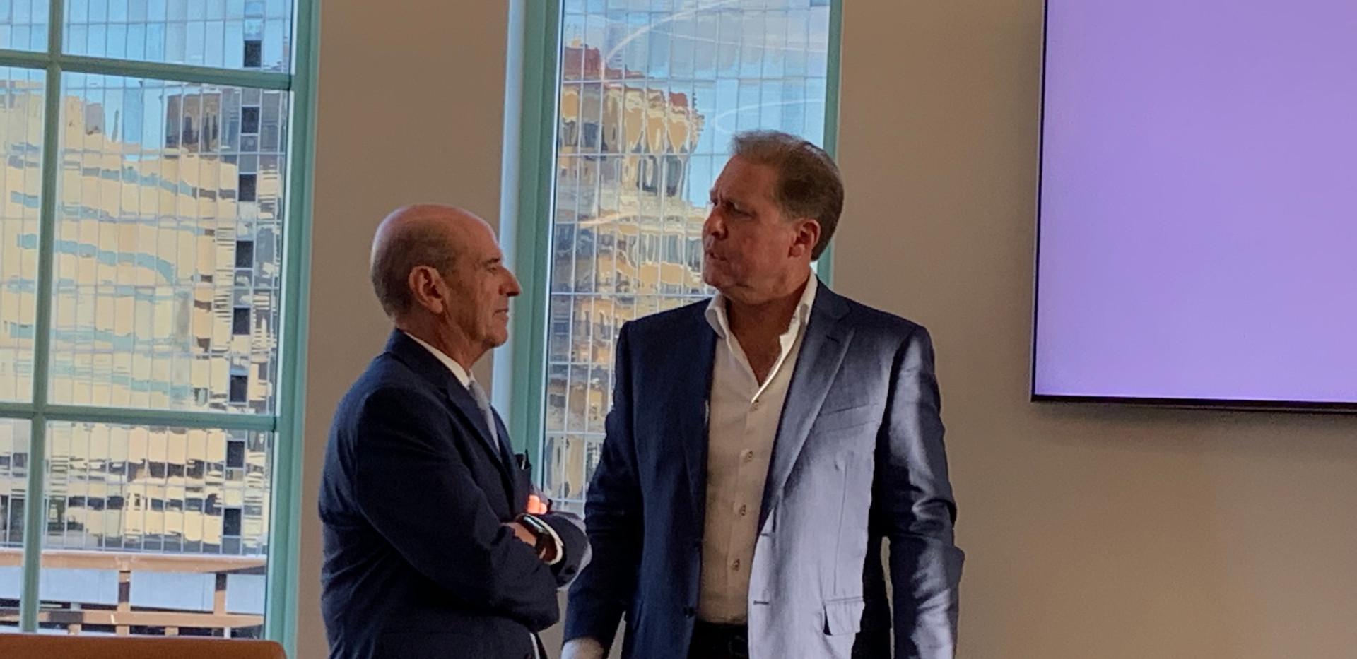 Rene Murai and Frank Carreras, Sr.
