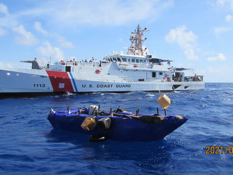 Florida Straits now seeing most migrant activity in over 4 years, Coast Guard says