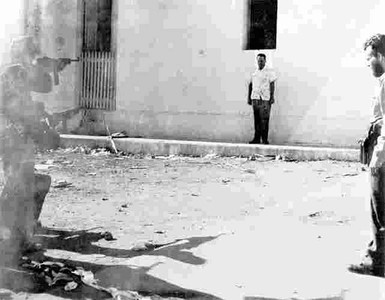 Las galeras de la Fortaleza de La Cabaña se llenaban de presos y el Foso de los Laureles, donde se llevaban a cabo los fusilamientos, era regado con la sangre de los cientos de hombres que morían gritando Viva Cristo Rey.  FOTO DE ARCHIVO