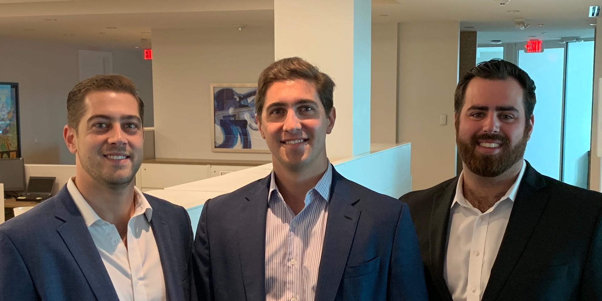 Frank Carreras, Jr., Magin Carreras and Friend