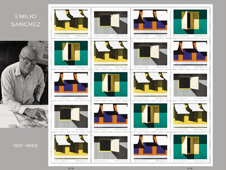 Legacy of Acclaimed Cuban Artist Emilio Sanchez on U.S. Postal Service Commemorative Forever Stamps