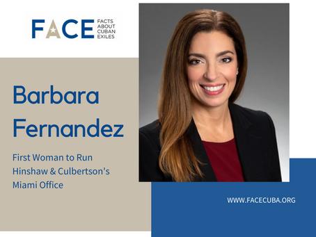 Meet Barbara Fernandez, the First Woman to Run Hinshaw & Culbertson's Miami Office