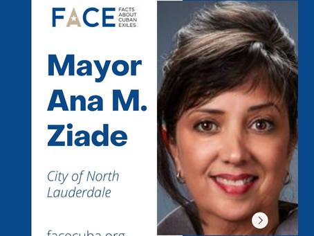 Mayor Ana M. Ziade
