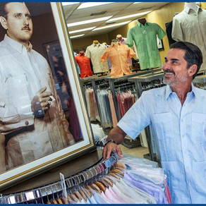Miami thought this guayabera shop was another victim of the pandemic, but it's back