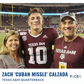 Texas A&M starts QB Zach 'Cuban Missile'  Calzada