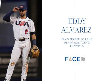 Eddy Alvarez chosen as one of the Team USA flag bearers for Tokyo Olympics