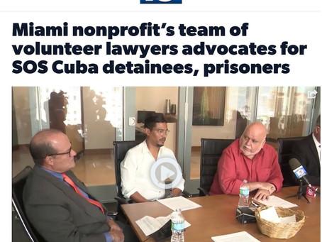 Miami nonprofit's team of volunteer lawyers advocates for SOS Cuba detainees, prisoners