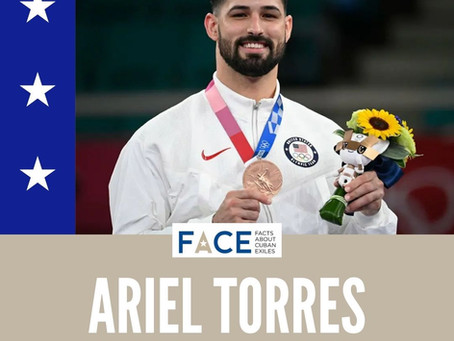 Ariel Torres Becomes The First Cuban-American To Win An Olympic Medal In Karate