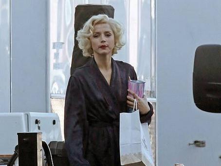 La actriz cubana Ana de Armas interpreta a Marilyn Monroe en Blonde