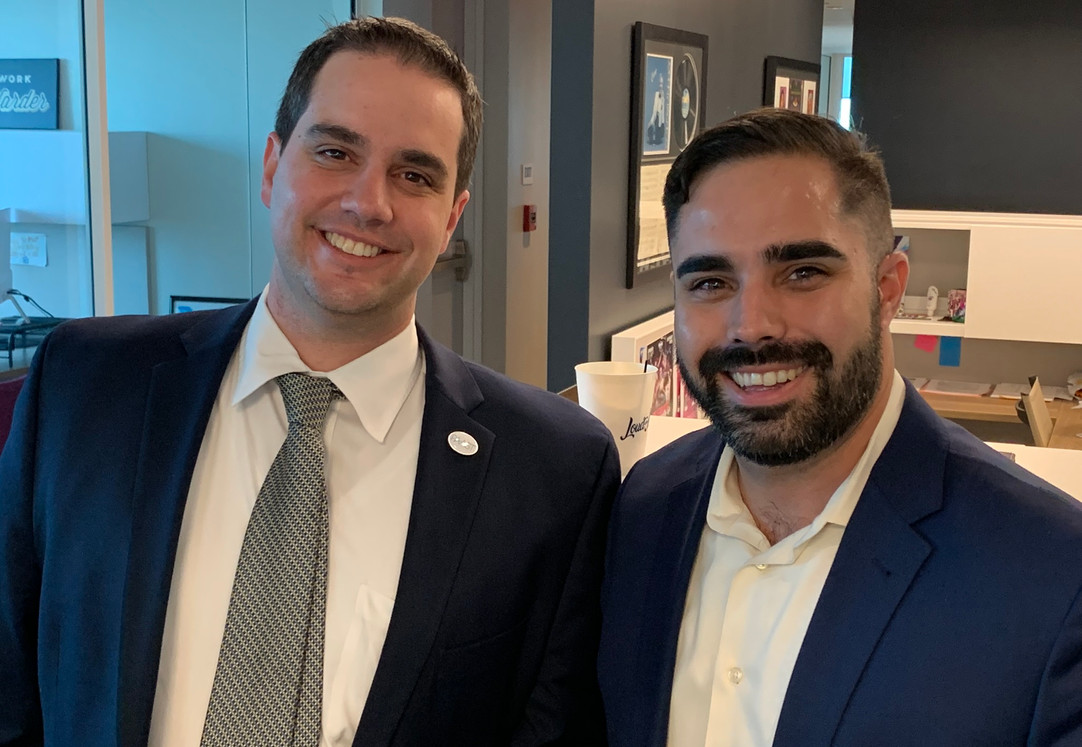 Young Cuban Americans at March 2019 FACE Roundtable for the Next Generation