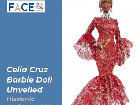 Barbie Unveils Celia Cruz Doll in Honor of Hispanic Heritage Month