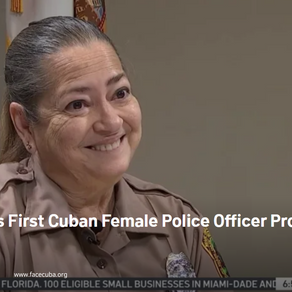 Miami-Dade's First Female Cuban Police Officer Broke Barriers in Career